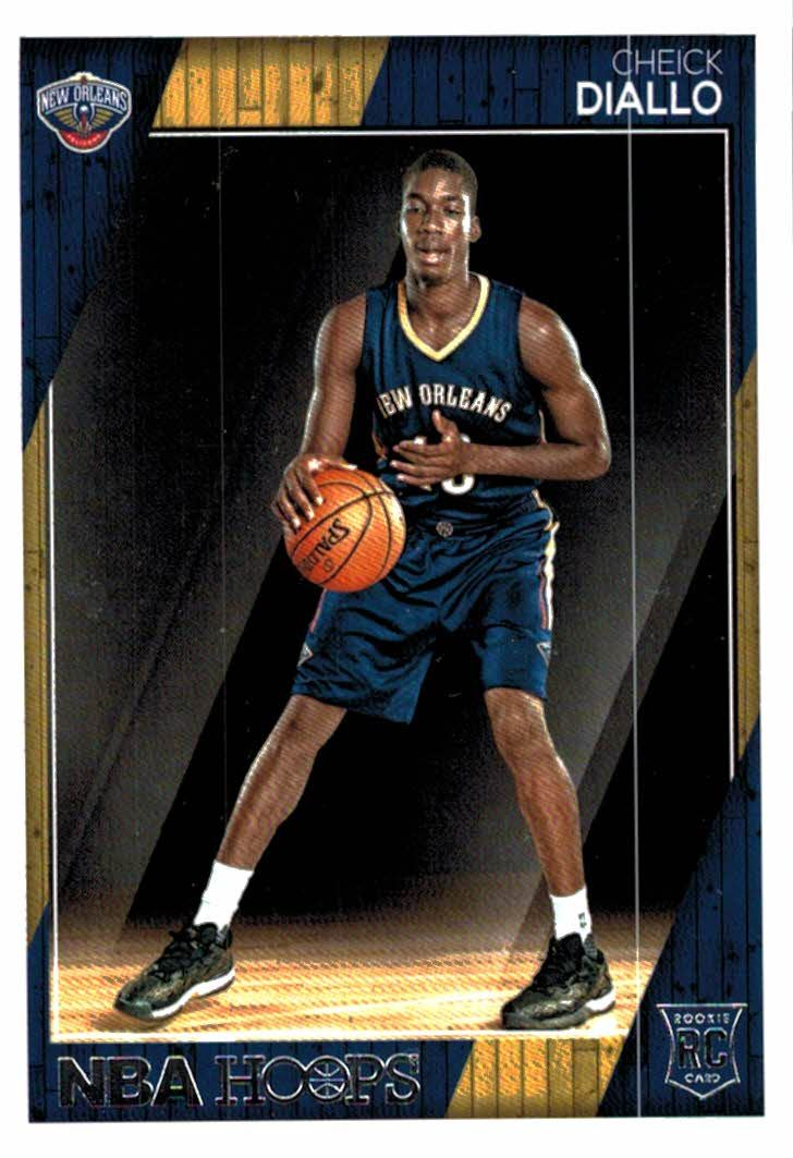 Buy 2018 19 Panini Hoops Cheick Diallo Rookie Card New Orleans Pelicans At Jm Collectibles For Only 100