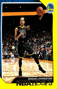 2018-19 Panini Hoops Yellow Parallel Shaun Livingston Golden State Warriors