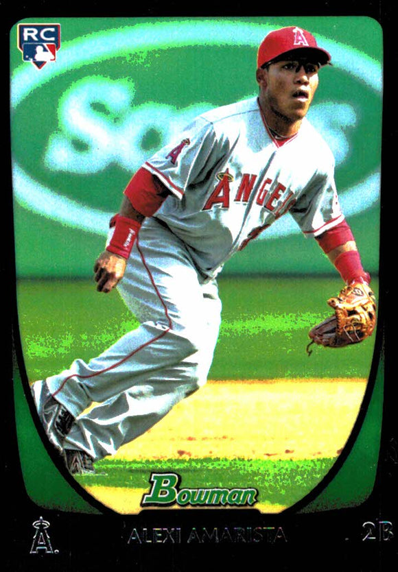 2011 Bowman Draft Alexi Armarista Rookie Card Los Angeles Angels