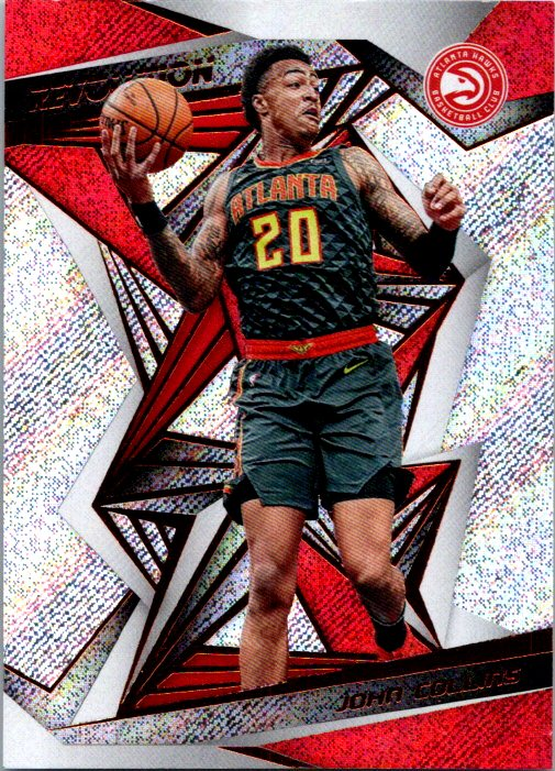 2019-20 Panini Revolution John Collins Rookie Card Atlanta Hawks