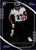2020 Panini Absolute J.K. JK Dobbins Rookie Card Baltimore Ravens