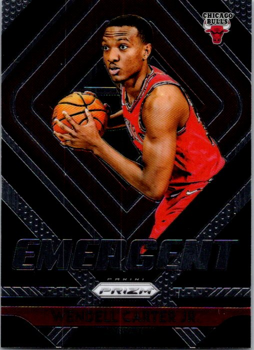 2018-19 Panini Prizm Emergent Wendell Carter Jr Chicago Bulls