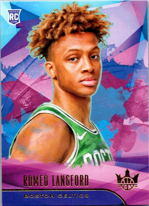 2019-20 Panini Court Kings Level I Romeo Langford Rookie Card Boston Celtics