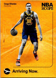 2019-20 Panini NBA Hoops Arriving Now Holo Goga Bitadze Indiana Pacers