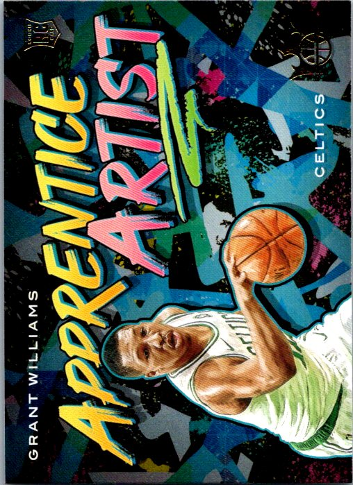 2019-20 Panini Court Kings Apprentice Artist Grant Williams Rookie Boston Celtics