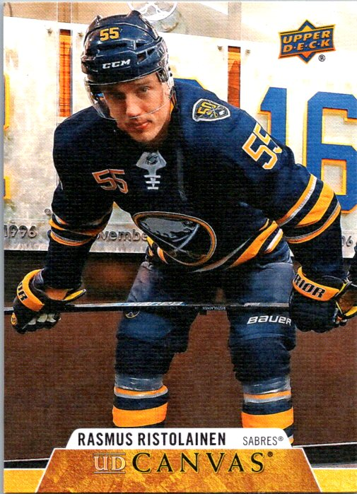 2020-21 Upper Deck Series 1 Canvas Rasmus Ristolainen Buffalo Sabres