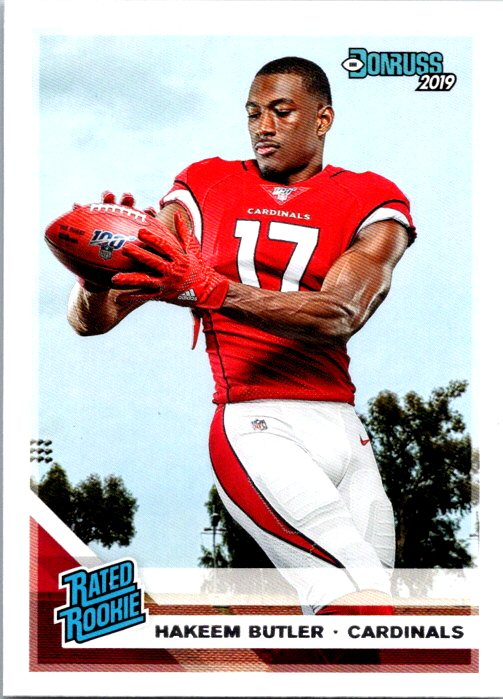 2019 Donruss Hakeem Butler Rated Rookie Arizona Cardinals