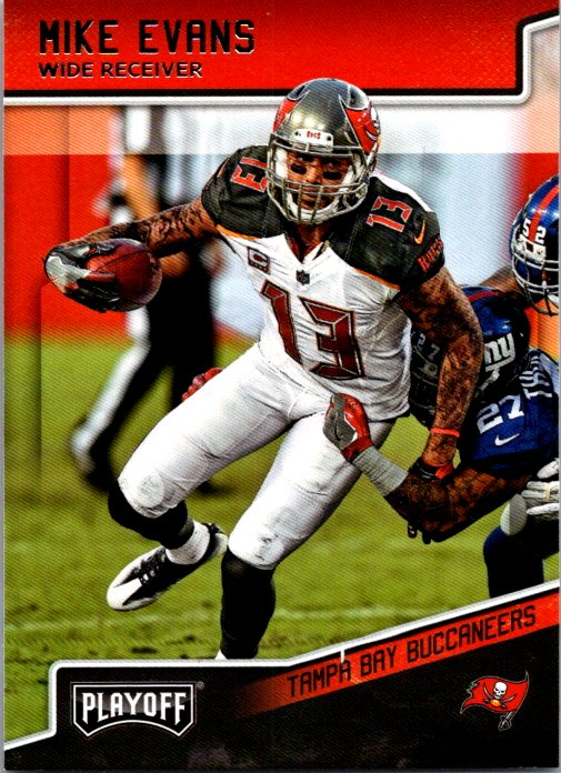 2018 Panini Playoff Mike Evans Tampa Bay Buccaneers