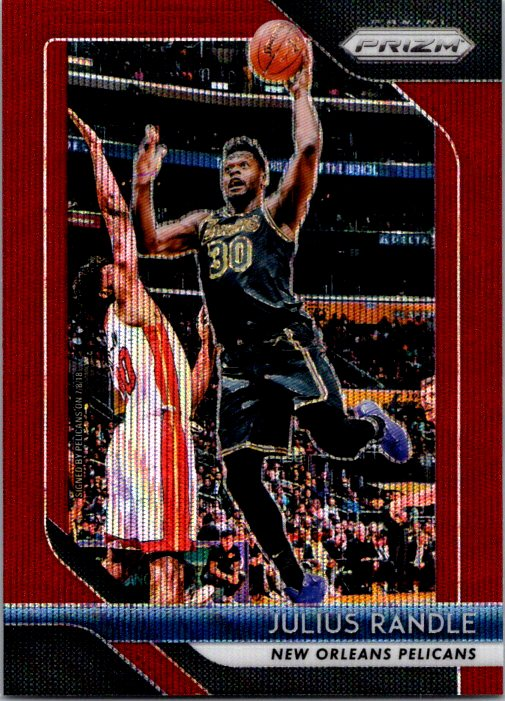 2018-19 Panini Prizm Red Wave Julius Randle New Orleans Pelicans