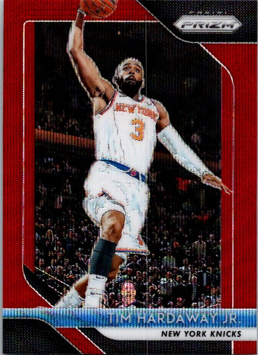 2018-19 Panini Prizm Red Wave Tim Hardaway Jr New York Knicks