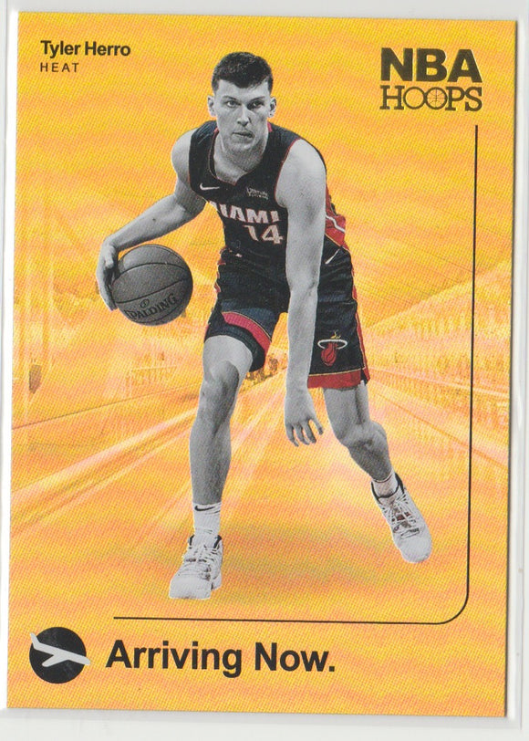 2019-20 Panini Hoops Arriving Now Holo Tyler Herro Rookie Card Miami Heat