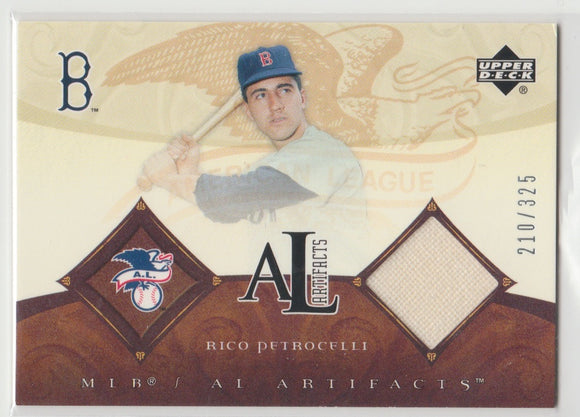 2005 Upper Deck Artifacts MLB Apparel /325 Rico Petrocelli Game Used Pants Boston Red Sox