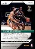 2018-19 Panini Prizm Prizms Red White Blue Oscar Robertson Milwaukee Bucks