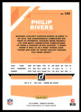 2019 Donruss Philip Rivers Press Proof Yellow Los Angeles Chargers