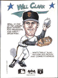 1990 Collect A Books Will Clark San Francisco Giants