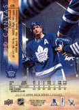 2017-18 Upper Deck Canvas Tyler Bozak Toronto Maple Leafs