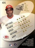 2000 Topps Stars Joe Morgan Cincinnati Reds