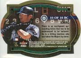 2003 Fleer Authentix Ballpark Classics Ichiro Suzuki Seattle Mariners
