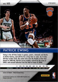 2018-19 Panini Prizm Prizms Red White Blue Patrick Ewing New York Knicks