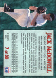 1994 Post Cereal Jack McDowell Chicago White Sox