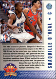 1992-93 Upper Deck Top Prospects Shaquille O Neal Orlando Magic