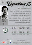 2007-08 Fleer Ultra SE L13 John Havlicek Boston Celtics