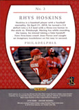 2018 Panini Chronicles Crusade Rhys Hoskins Rookie Card Philadelphia Phillies