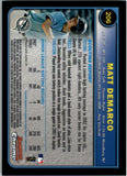2003 Bowman Chrome Matt DeMarco Rookie Card Florida Marlins