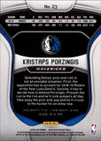 2019-20 Certified Kristaps Porzingis Dallas Mavericks