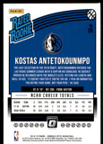 2018-19 Donruss Optic Kostas Antetokounmpo Rated Rookie Dallas Mavericks