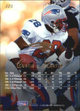 1995 Flair Curtis Martin Rookie Card New England Patriots