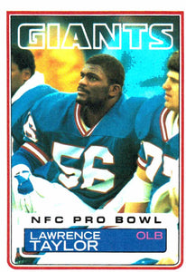 1983 Topps Lawrence Taylor New York Giants - JM Collectibles