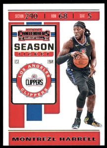 2019-20 Panini Contenders Montrezl Harrell Los Angeles Clippers