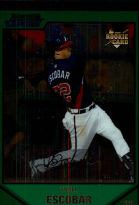 2007 Bowman Chrome Draft Yunel Escobar Atlanta Braves