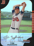 2005 Bowman Chrome Refractor Tim Hudson Atlanta Braves