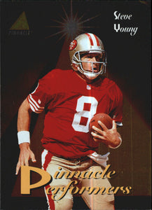 1994 Pinnacle Performers Steve Young San Francisco 49ers