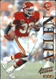 1995 Action Packed Marcus Allen Kansas City Chiefs