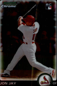2010 Bowman Chrome Jon Jay Rookie Card St Louis Cardinals