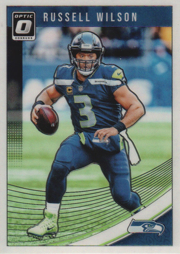 2018 Donruss Optic Russell Wilson Seattle Seahawks