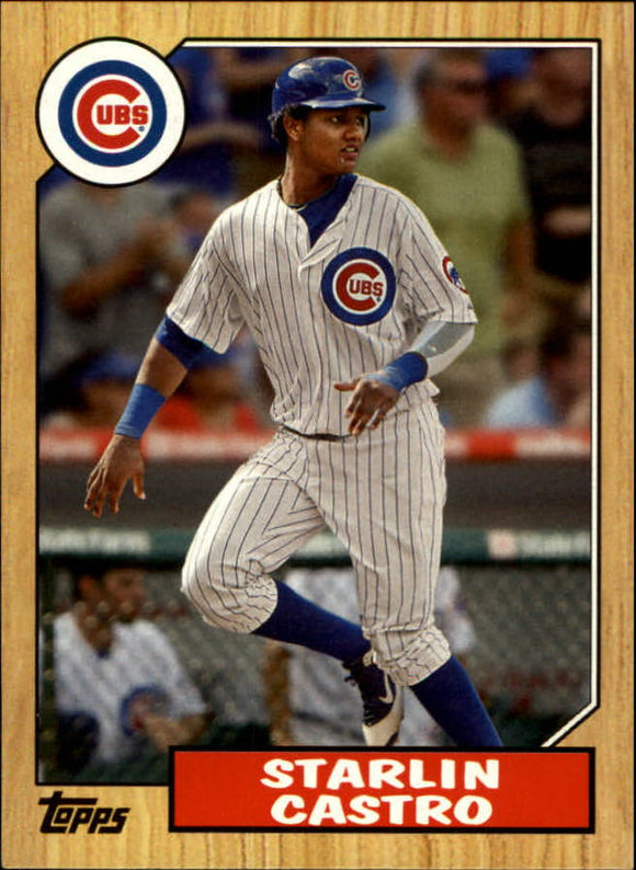 2012 Topps 1987 Topps Minis Starlin Castro Chicago Cubs