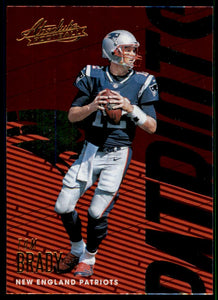 2018 Absolute Tom Brady New England Patriots