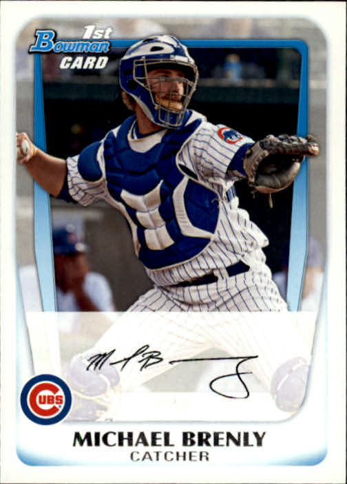 2011 Bowman Prospects Michael Brenly Chicago Cubs