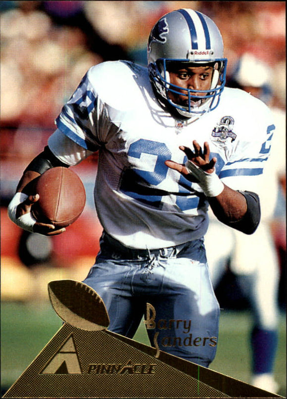 1994 Pinnacle Barry Sanders Detroit Lions