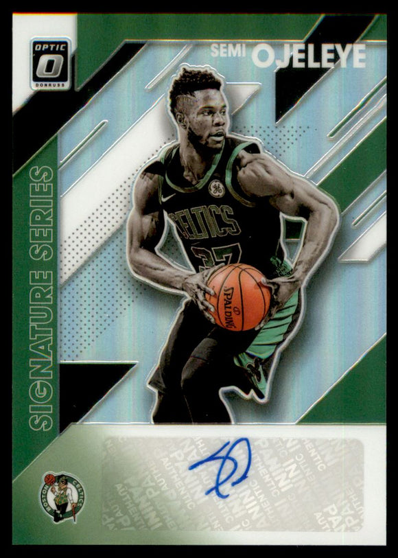 2019-20 Donruss Optic Signature Series Holo Semi Ojeleye Boston Celtics