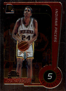 1999-00 Topps Chrome Jonathan Bender Rookie Card Indiana Pacers