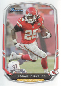 2013 Bowman Jamaal Charles Kansas City Chiefs