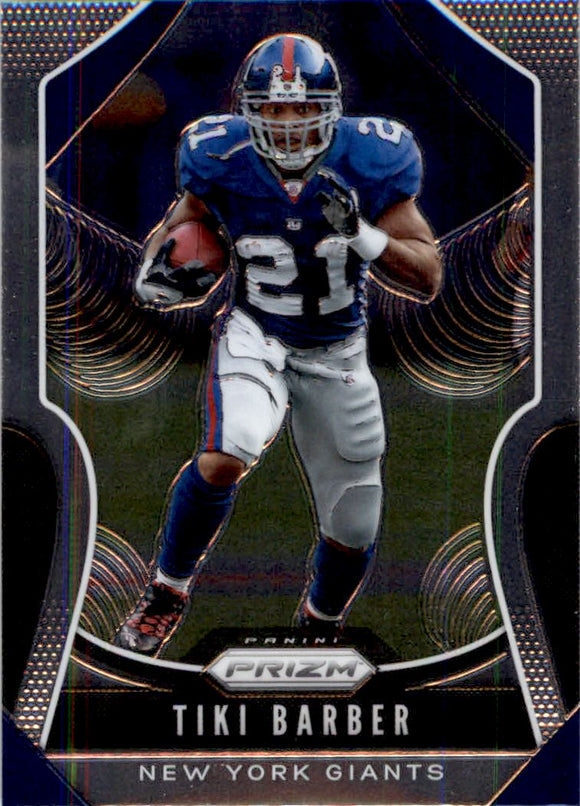 2019 Panini Prizm Base Tiki Barber New York Giants