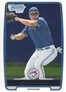 2012 Bowman Chrome Prospects Chris Hawkins Toronto Blue Jays