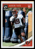 2018 Donruss Optic Auden Tate Rookie Card Cincinnati Bengals