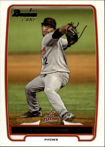 2012 Bowman Prospects Dayan Diaz Houston Astros